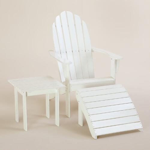Antique-White Classic Adirondack Collection