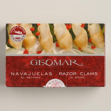 Geomar Razor Clams, Set of 4