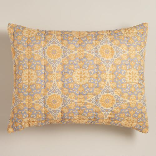 Melina Medallion Standard Pillow Shams, Set of 2