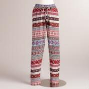 Mixed Print Eliza Soft Pant