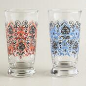 Fortune Fresco Glass Tumblers, Set of 2