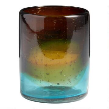 Ombre DOF Monterey Glasses, Set of 4