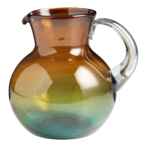 Ombre Monterey Glass Pitcher