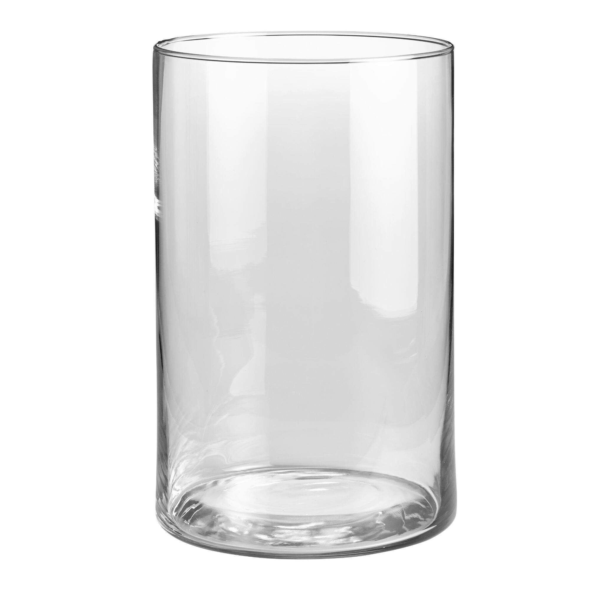 CASAMOTION Vase s Hand Blown Art Glass Vase, Centerpiece Vase s for Table, Clear, set of 3 Product - BalsaCircle Clear 6 pcs 20
