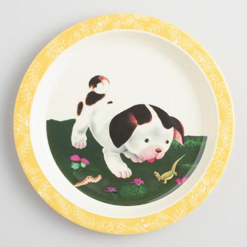 Poky Puppy Melamine Plates Set of 4