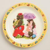 Three Little Bears Plates, Set of 4