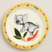 Elephant Plates, Set of 4