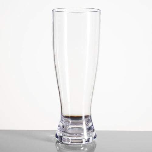 Acrylic Pilsner Glasses, Set of 4