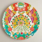 Melamine Bettina Print Platter