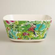 Melamine Square Fiji Serving Bowl