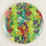 Melamine Splatter Dinner Plates, Set of 4