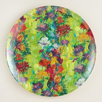 Splatter Dinner Plates, Set of 4
