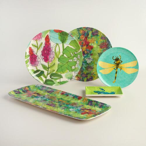Fiji Melamine Dinnerware Collection