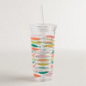 Mod Fish Double Wall Tumbler