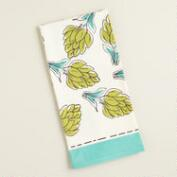 Artichoke Flour Sack Kitchen Towel, Set of 2