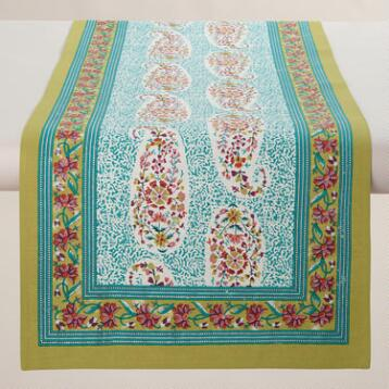Paisley Leela Table Runner
