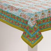 Paisley Leela Tablecloth