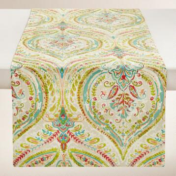Floral Ogee Table Runner
