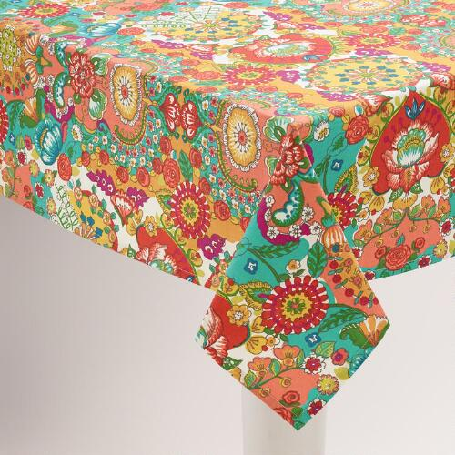 Floral Bettina Tablecloth