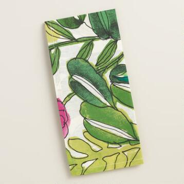 Fiji Foliage Napkins, Set of 4
