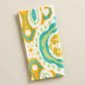 Aqua Ikat Bungalow Napkins, Set of 4