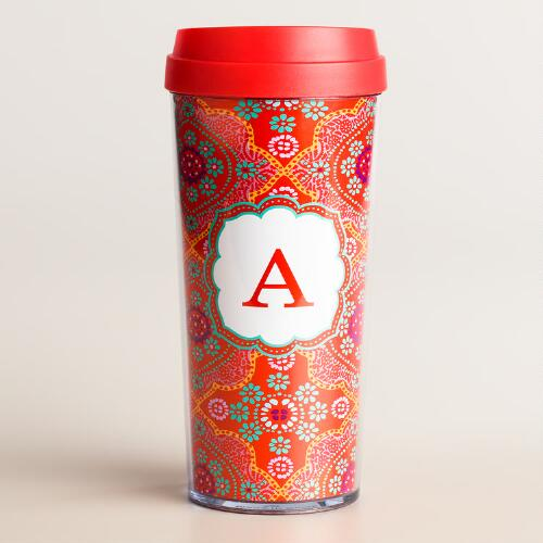 """A"" Monogram Travel French Press"