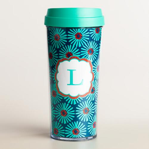 """L"" Monogram Travel French Press"
