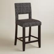 Gray Tweed Bret Counter Stool