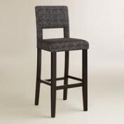 Gray Tweed Bret Bar Stool
