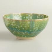 Sea Green Corsica Bowls, Set of 4