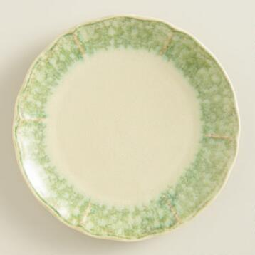 Sea Green Corsica Plates, Set of 4