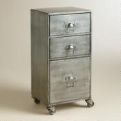 Metal 3-Drawer Jase Rolling File Cabinet
