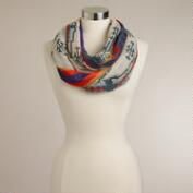 Multicolored Southwest Infinity Scarf
