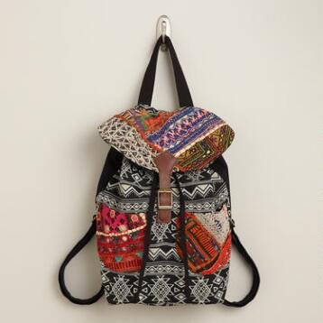 Sari Patchwork Backpack