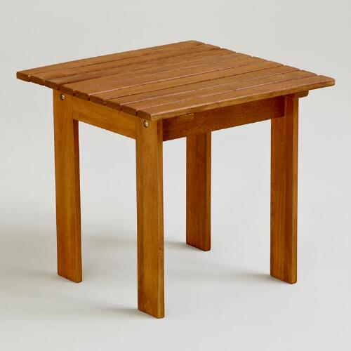 Natural Classic Adirondack Side Table