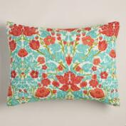 Floral Camille Pillow Shams, Set of 2