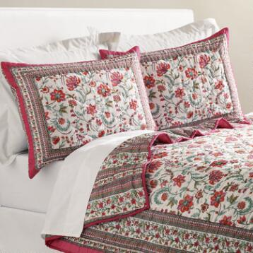 Floral Tarani Reversible Bedding Collection