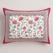 Floral Tarani Pillow Shams, Set of 2