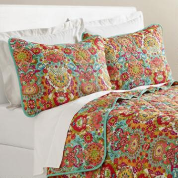 Bettina Floral Reversible Quilt