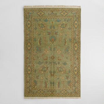 Hand-Knotted Wool Kira Area Rug