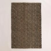 Black Diamond Chunky Weave Jute Aminah Area Rug