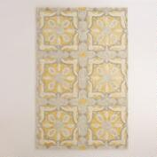 Soleil Tile Tufted Wool Area Rug