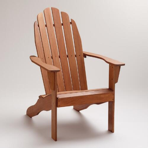 Natural Classic Adirondack Chair