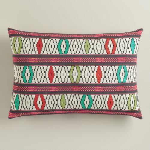 Multicolor Lumbar Pillow