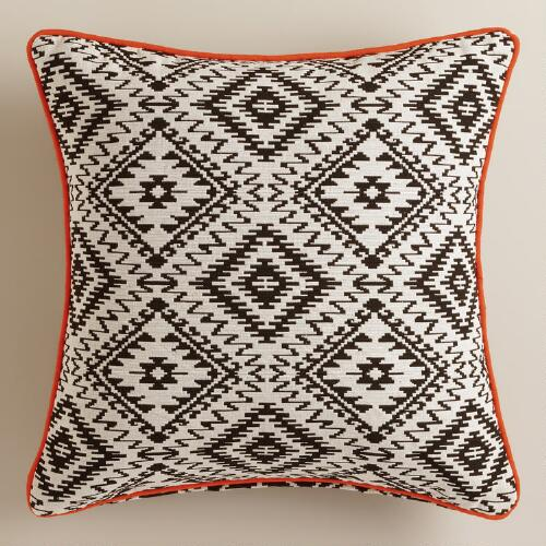 Black And White Geometric Throw Pillows : Black and White Geometric Throw Pillow World Market
