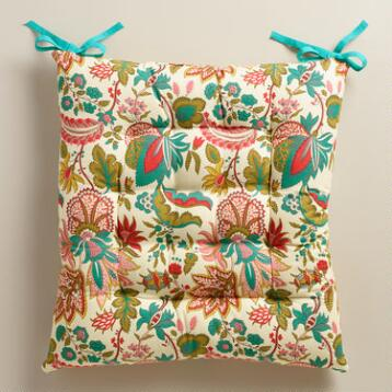 Floral Reeya Chair Cushion