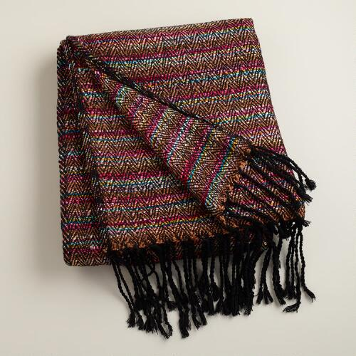 Multicolor Boulevard Throw