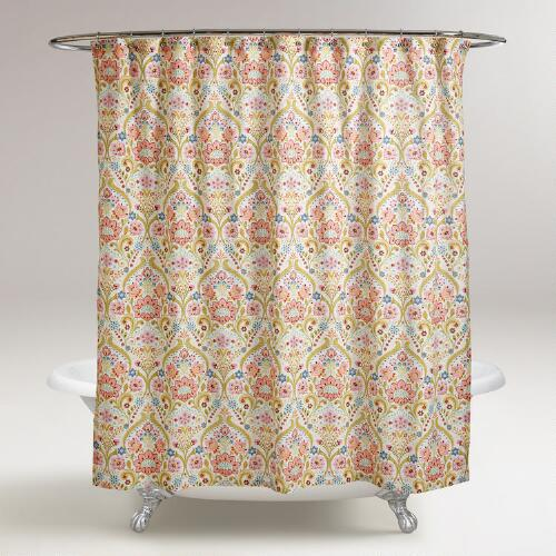 Floral Zara Shower Curtain
