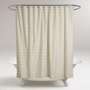 Sand Geo Shower Curtain