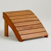 Natural Classic Adirondack Stool
